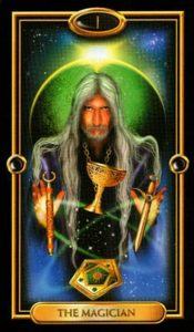 01 - Krystel Voyance - Major Arcana - The Magician