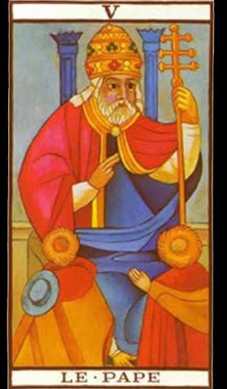 Krystel Voyance - The Hierophant - Major Arcana - Tarot of