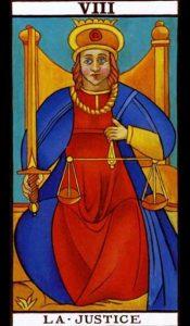 08 - Krystel Voyance - Arcane Majeur - La Justice