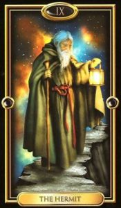09 - Krystel Voyance - Major Arcana - The Hermit