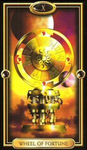 10 - Krystel Voyance - Major Arcana - Wheel of Fortune