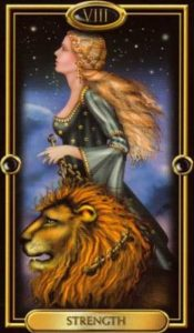 11 - Krystel Voyance - Major Arcana - Strength