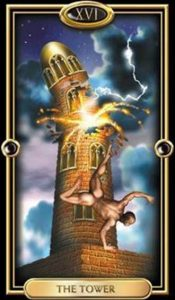 16 - Krystel Voyance - Major Arcana - The Tower