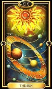19 - Krystel Voyance - Major Arcana - The Sun