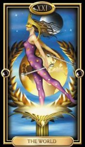 21 - Krystel Voyance - Major Arcana - The World